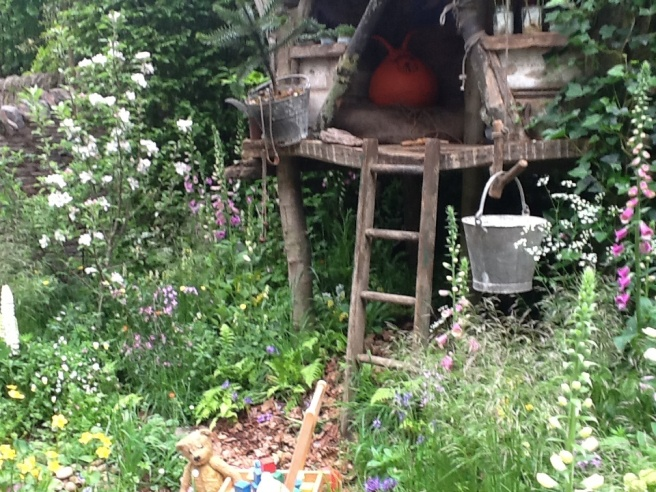 Sweet children's garden