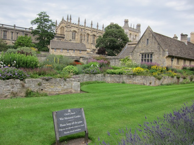 War Memorial Garden, Christ Church College, Oxford