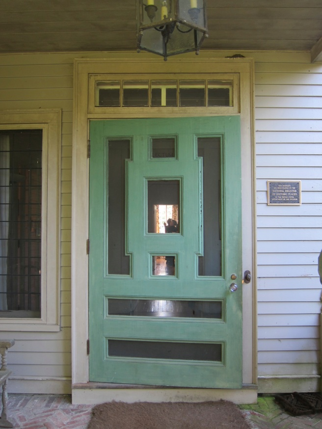 The Green Door brought to Garland Farm from Reef Point